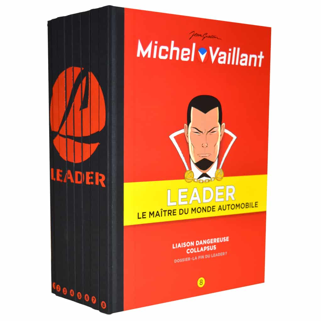 coffret bd michel vaillant leader