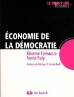 Economie de la démocratie