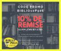 10% de remise supplémentaire «BIBLIO10P50E»