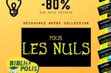 Livres de la collection pour les Nuls à petit prix !