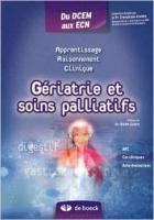 Gériatrie et soins palliatifs