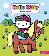 Hello Kitty fait du poney