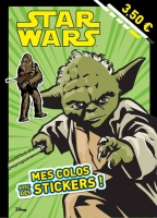 Jedi, mes colos avec stickers Collectif