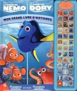 Le monde de Dory ; Le monde de Nemo : Mon grand livres d'histoires